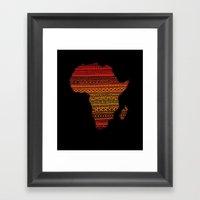 AFRIKA Framed Art Print