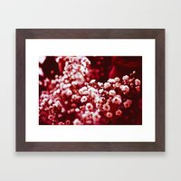 Red Happiness Framed Art Print