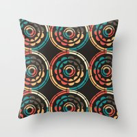Indonesian Vibes Throw Pillow