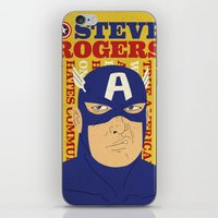 Steve Rogers/Captain Ame… iPhone & iPod Skin