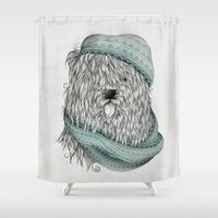 Shaggy Dog  Shower Curtain