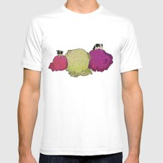 Cows love ice cream Mens Fitted Tee White SMALL