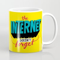 The Internet Doesn't Forget Mug