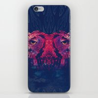 Face To Face, Owl To Owl iPhone & iPod Skin