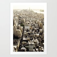 Empire State View 3. Art Print