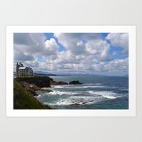 House On A Cliff In Sout… Art Print