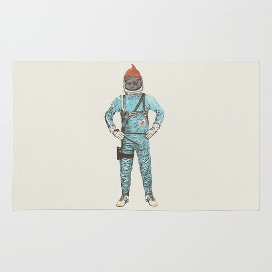 Zissou In Space Area & Throw Rug