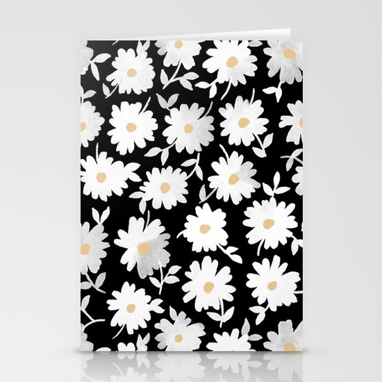 Daisies Stationery Card