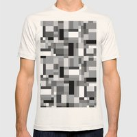 New Map #3 Mens Fitted Tee Natural SMALL