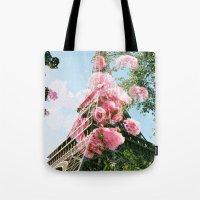 Paris in the Springtime  Tote Bag