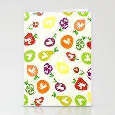 Fruity Unicorns Stationery Cards