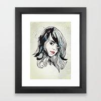 Leathers Framed Art Print
