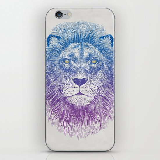 Face of a Lion iPhone & iPod Skin
