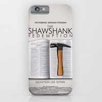 iPhone & iPod Case featuring the shawshank redemption by Arevik Martirosyan