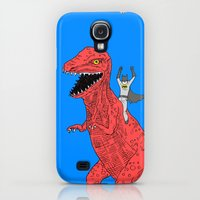 Galaxy S4 Cases featuring Dinosaur B Forever by Isaboa