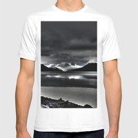 Turnagain Arm (Alaska) Mens Fitted Tee White SMALL
