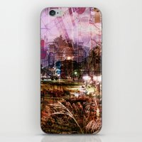 Double Exposure Art iPhone & iPod Skin