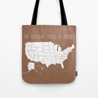The Hand-Painted Nationa… Tote Bag