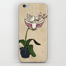 THE RARE SONGBIRD ORCHID iPhone & iPod Skin