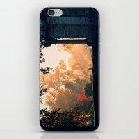 Fall Morning At Green La… iPhone & iPod Skin