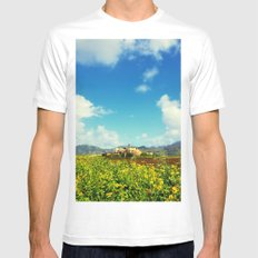 Sugar Mill Mens Fitted Tee White SMALL