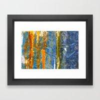 Yellow River Framed Art Print