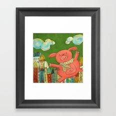 Piggy Pig Framed Art Print