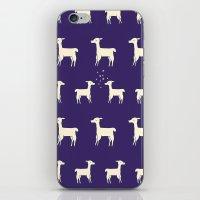 Lamas in Love iPhone & iPod Skin