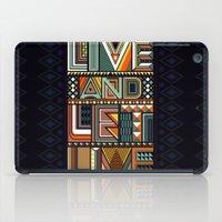 LIVE & LET LIVE iPad Case
