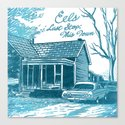 7 inch series: Eels - Last Stop: This Town Canvas Print