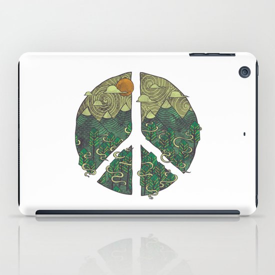 Peaceful Landscape iPad Case