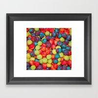 Cereal Framed Art Print