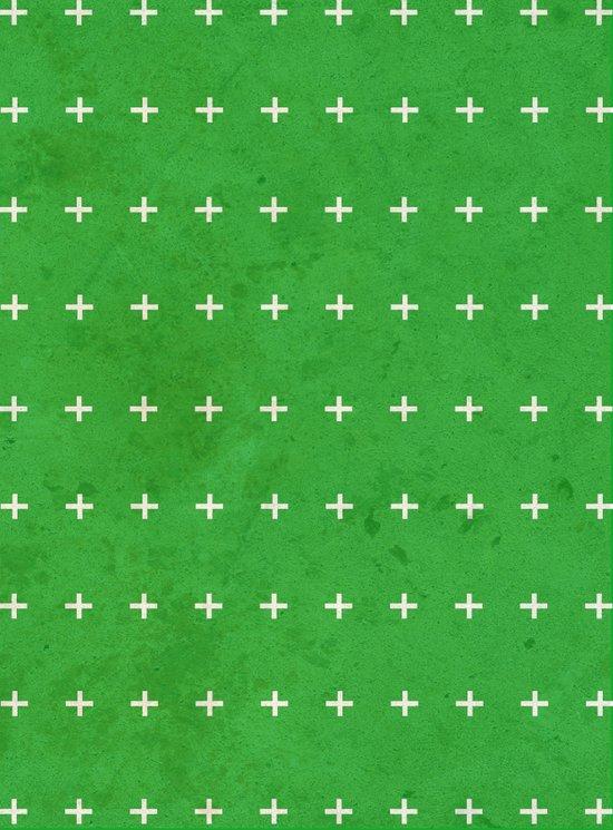 Green cross Art Print