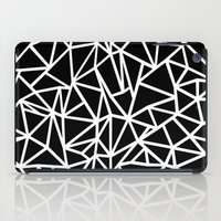 Abstract Outline Thick W… iPad Case