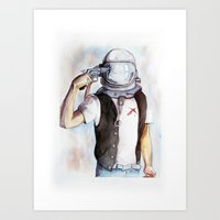 Kosmo Art Print