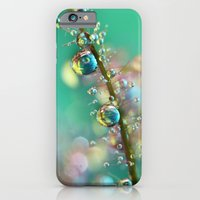 iPhone & iPod Case featuring Smokey Rainbow Drops by Sharon Johnstone
