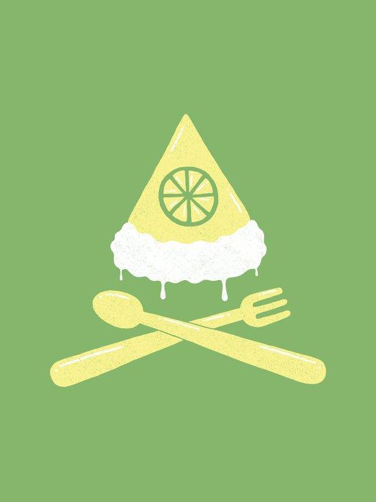 Luscious Lime Pie Art Print