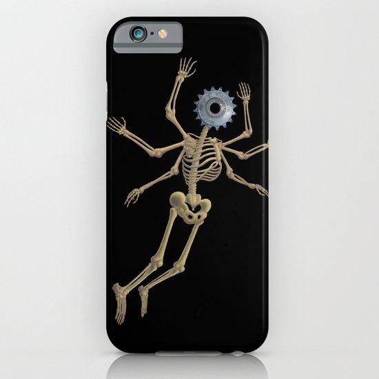 GEAR HEAD SKELETON iPhone & iPod Case