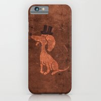 iPhone & iPod Case featuring Arrogant Dog by David Finley