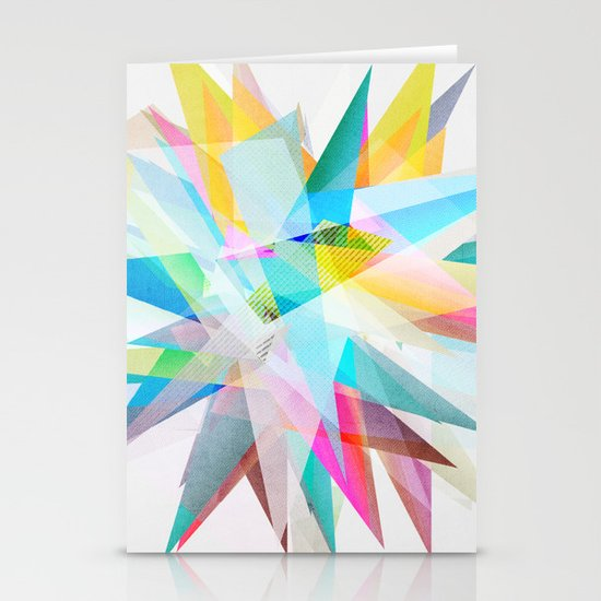 Colorful 4 Stationery Card