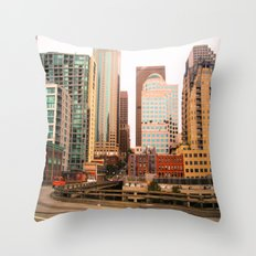 Seattle Throw Pillow