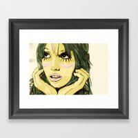 cloudnine Framed Art Print