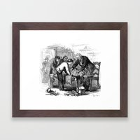 Dr. Crowley's Experiment… Framed Art Print