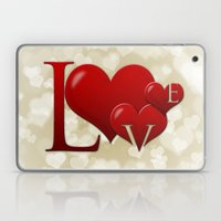 Love! Love! Love!  Laptop & iPad Skin