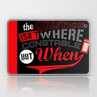 The Question Isn't Where… Laptop & iPad Skin