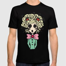 Ms Meow Mens Fitted Tee SMALL Black