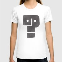 Who Dunnit? Womens Fitted Tee White SMALL