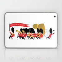 Play that funky music soldier boys! Laptop & iPad Skin