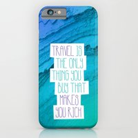 Travel mindfulness print iPhone 6 Slim Case