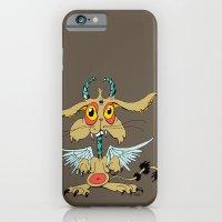 Evil Flying Feline Jackalope  iPhone 6 Slim Case